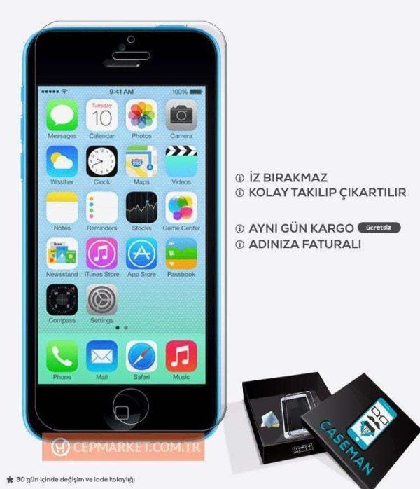 iPhone 5c Kırılmaz Cam