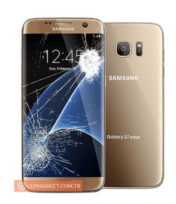Samsung S7 Edge Ekran + Değişim + Kargo