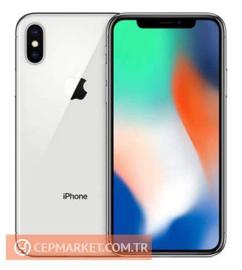 iPhone 10 Gümüş Renk