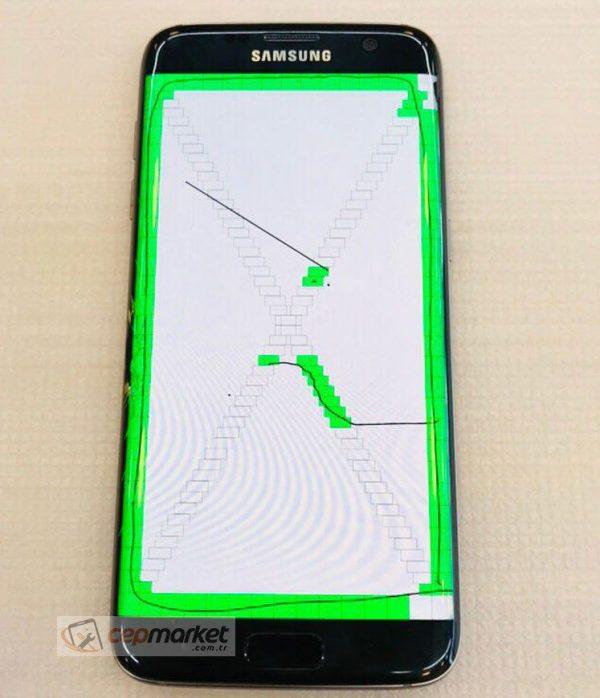 Samsung Galaxy S7 Edge Cam Değişimi