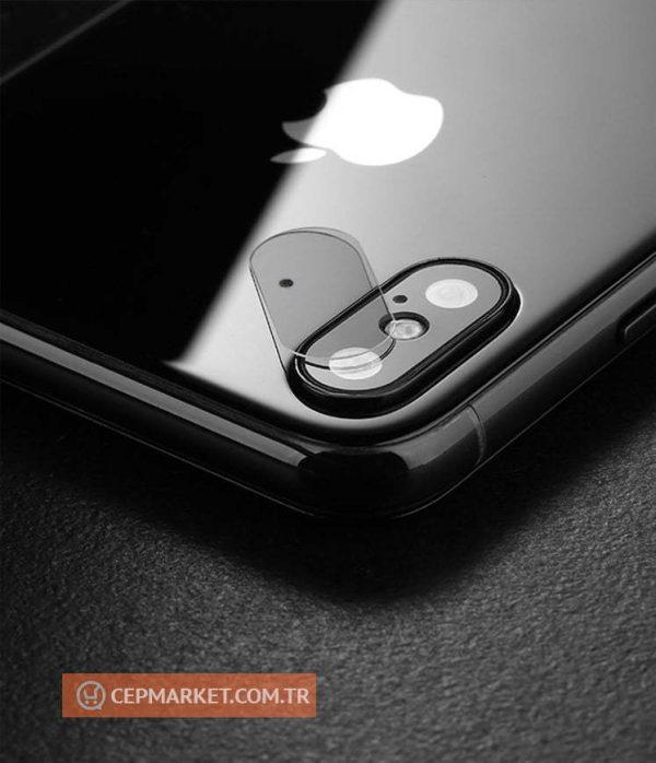 iPhone 10 - X Arka Kamera Ekran Koruyucu