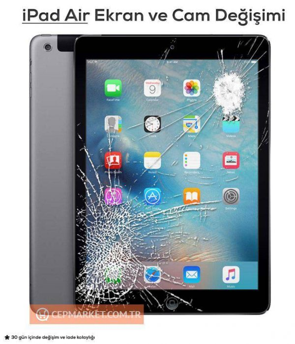 Apple iPad Air Ekran ve Cam Değişimi