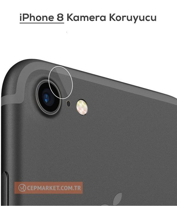 iPhone 8 Arka Kamera Ekran Koruyucu