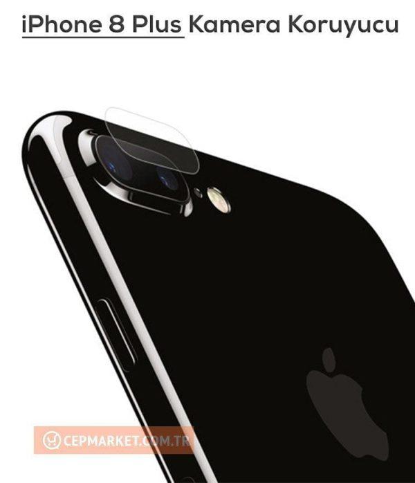 iPhone 8 Plus Arka Kamera Ekran Koruyucu