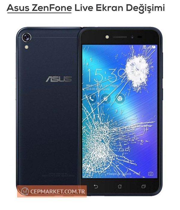 Asus Zenfone Live Ekran Değişimi