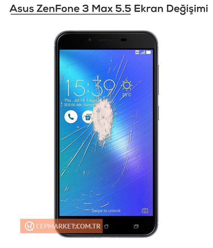 Asus Zenfone 3 Max 5.5 Ekran Değişimi