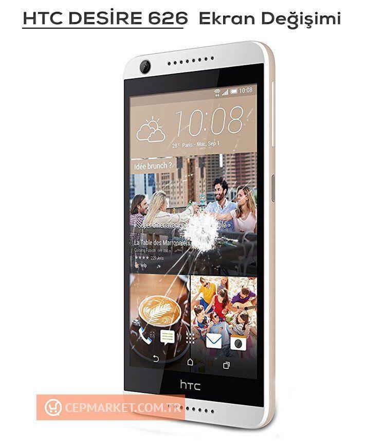 HTC Desire 626 Ekran Değişimi