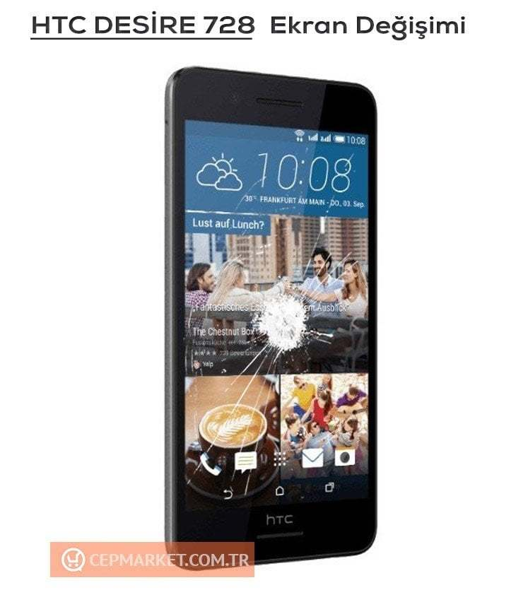 HTC Desire 728 Ekran Değişimi