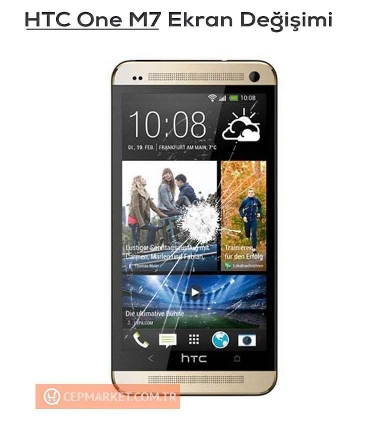 HTC One M7 Ekran Değişimi