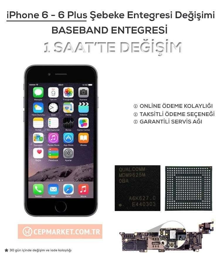 iPhone 6 - 6 Plus Baseband Şebeke Entegresi Değişimi