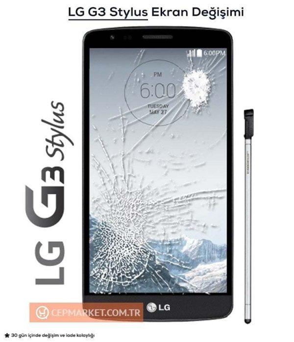 LG G3 Stylus Ekran Değişimi
