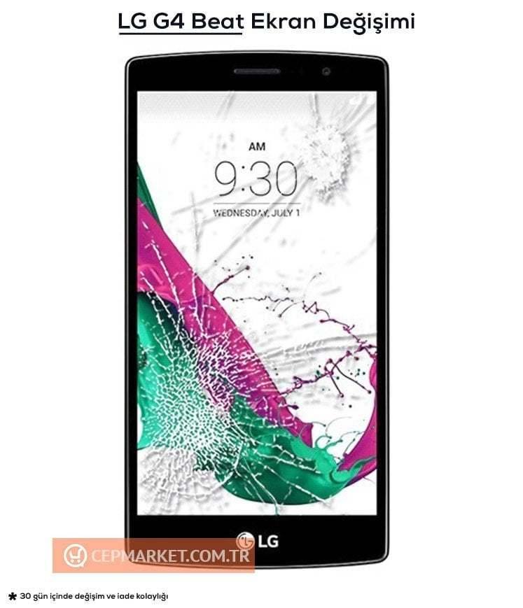 LG G4 Beat Ekran Değişimi