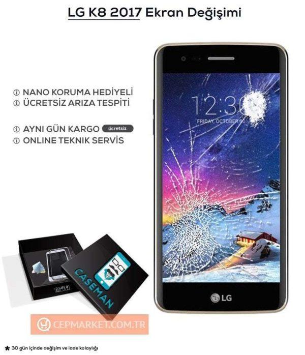 LG K8 2017 Ekran Değişimi