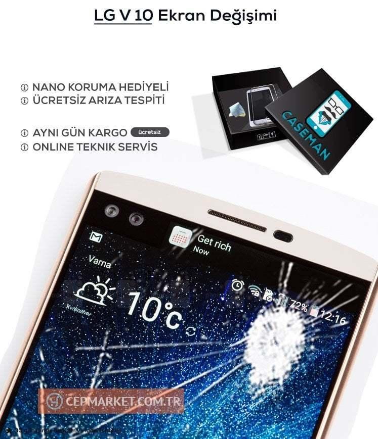 LG V10 Ekran Değişimi