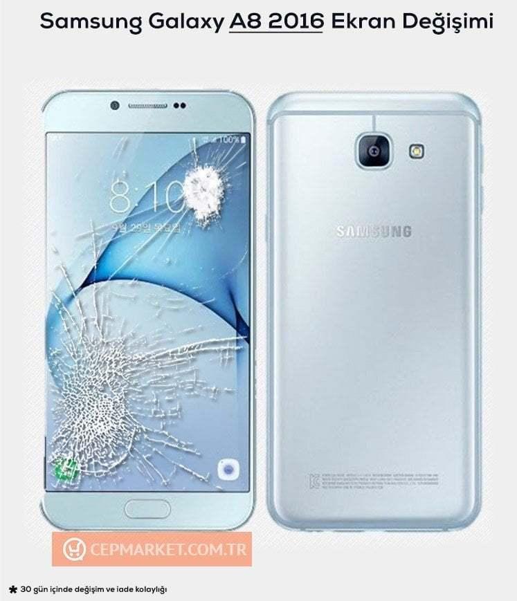 Samsung A8 2016 Ekran Değişimi