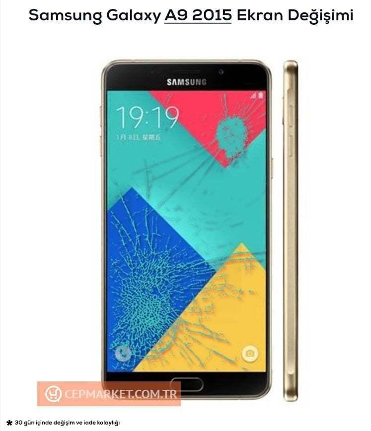 Samsung A9 2015 Ekran Değişimi