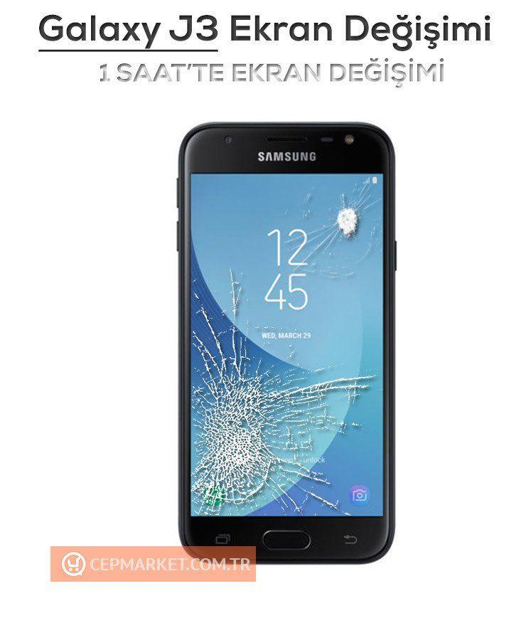 Samsung Galaxy J3 Ekran Değişimi