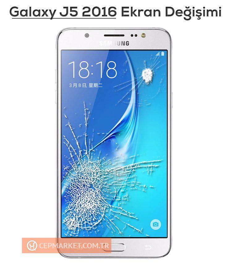 Samsung Galaxy J5 2016 Ekran Değişimi