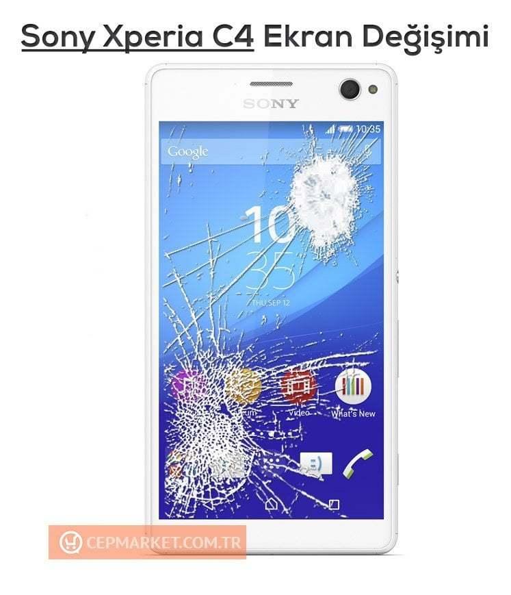 Sony Xperia C4 Ekran Değişimi