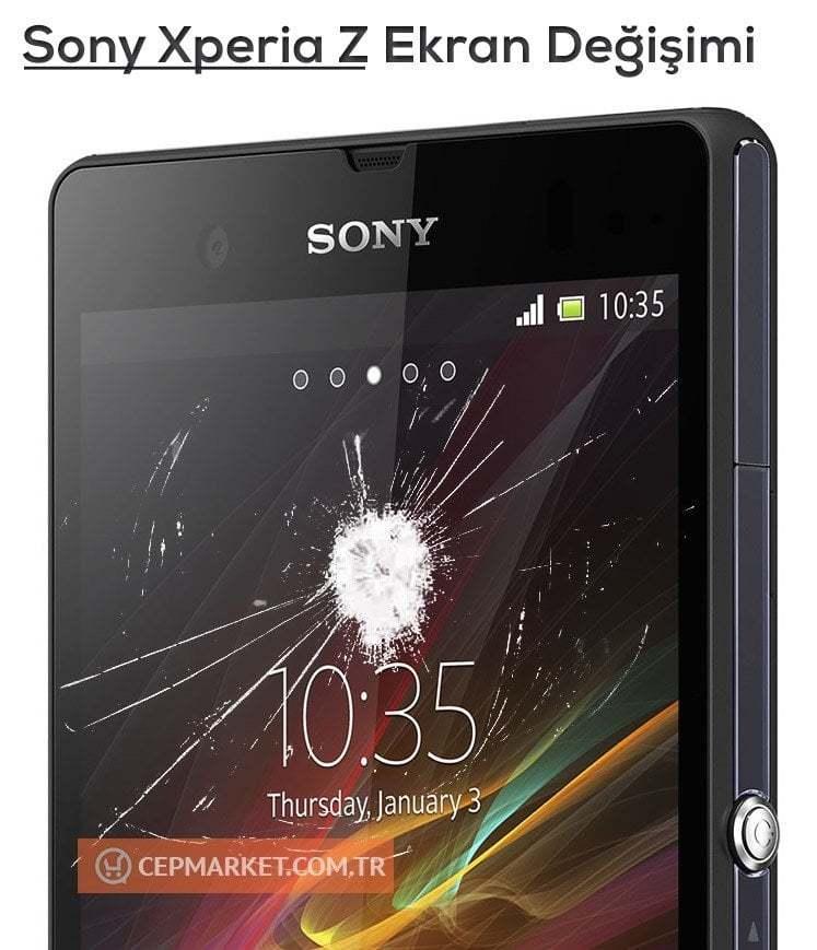 Sony Xperia Z Ekran Değişimi