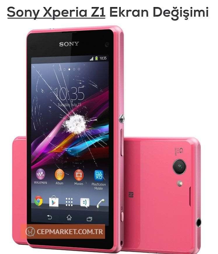 Sony Xperia Z1 Ekran Değişimi