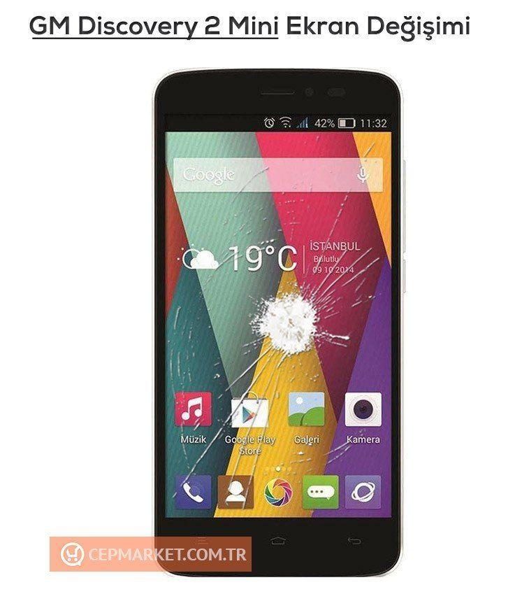 General Mobile Discovery Mini 2 Ekran Değişimi