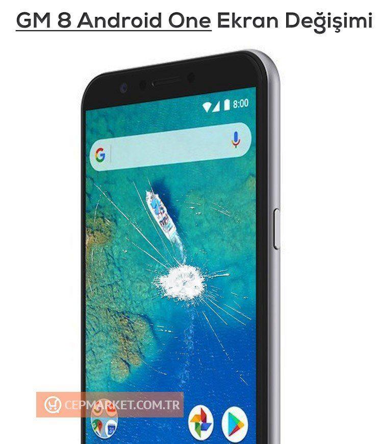 General Mobile GM 8 Ekran Değişimi
