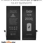 iPhone 8 Delta Batarya Değişimi