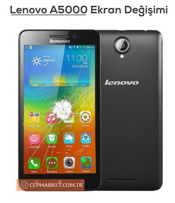 Lenovo A5000 Ekran Değişimi