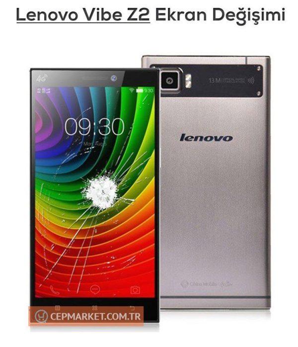 Lenovo Vibe Z2 Ekran Değişimi