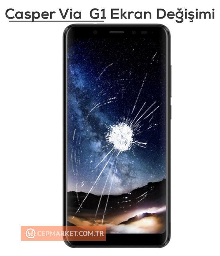 Casper Via G1 Ekran Değişimi