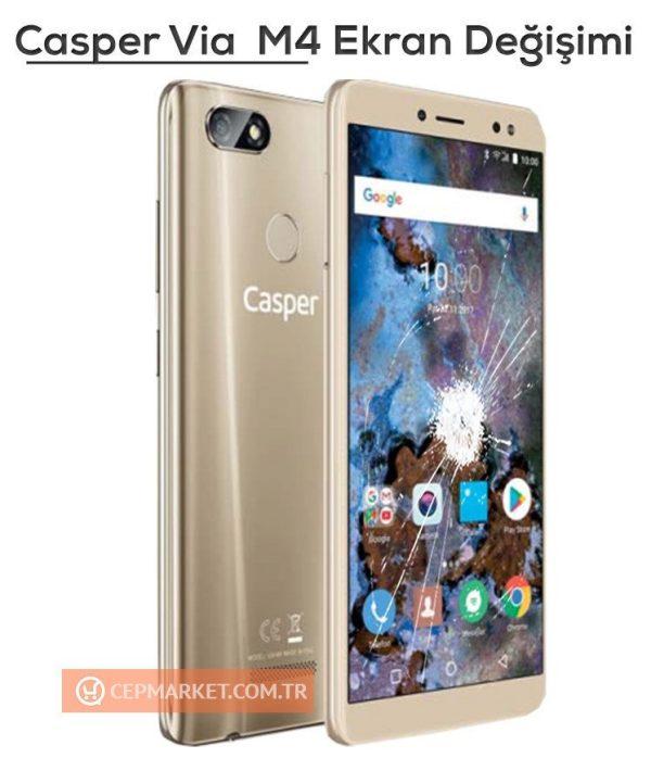 Casper Via M4 Ekran Değişimi
