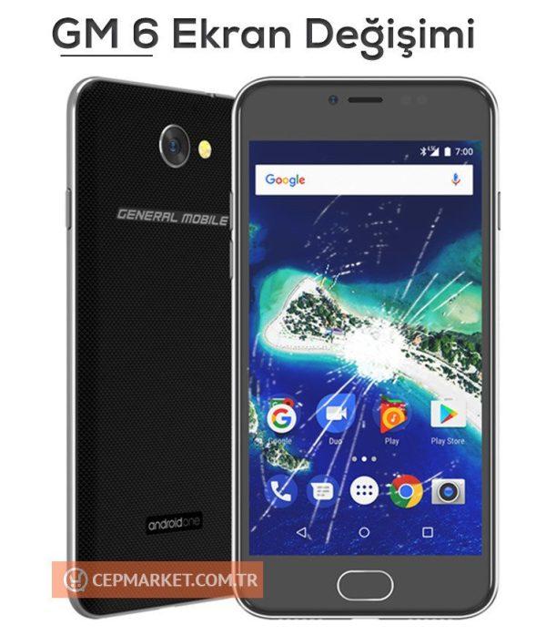 General Mobile GM 6 Ekran Değişimi