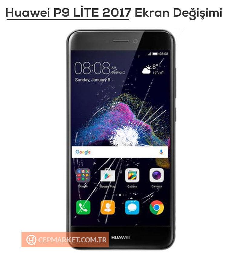 Huawei P9 LITE 2017 Ekran Değişimi