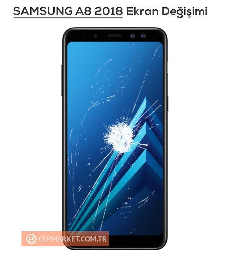 Samsung A8 2018 Ekran Değişimi