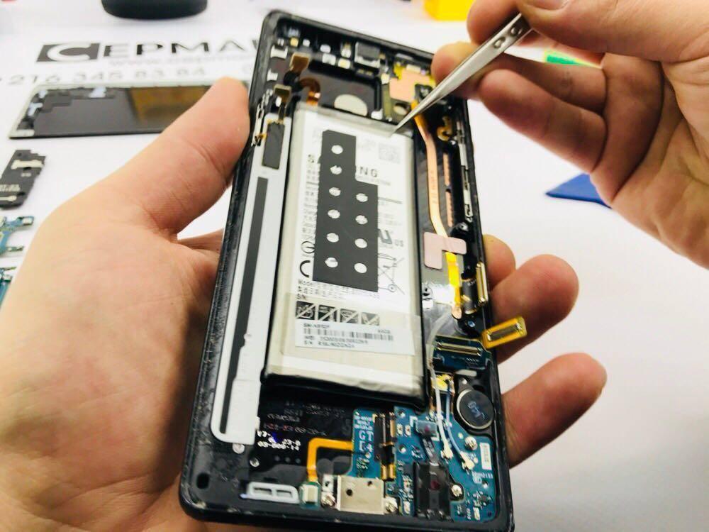 Samsung Note 8 Batarya Değişimi