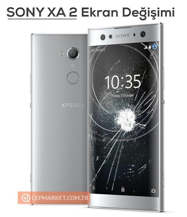 Sony Xperia XA2 Ekran Değişimi