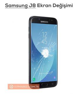 Samsung J8 Ekran Değişimi