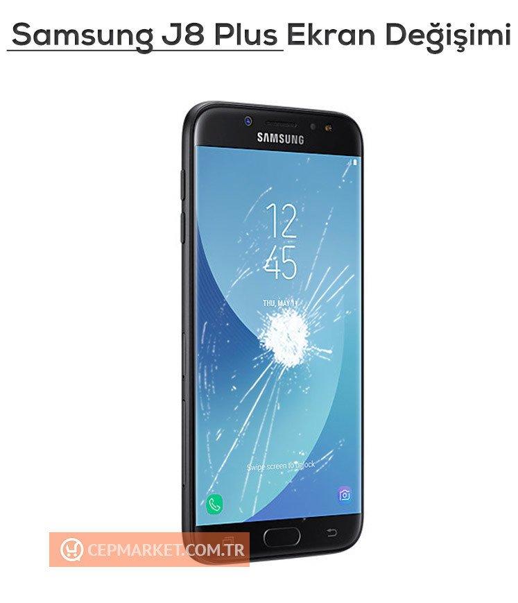 Samsung J8 Plus Ekran Değişimi