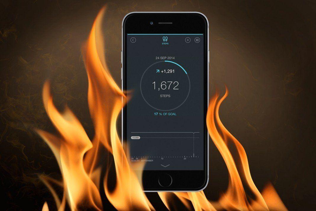 iPhone Güneşte Kaldı - Sıcaklık Uyarısı