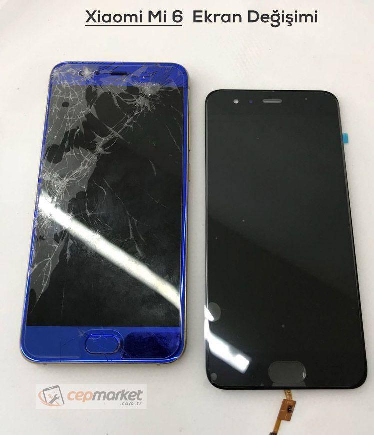 Xiaomi Mi 6 Ekran Değişimi | Orjinal Ekran Değişimi Servisi