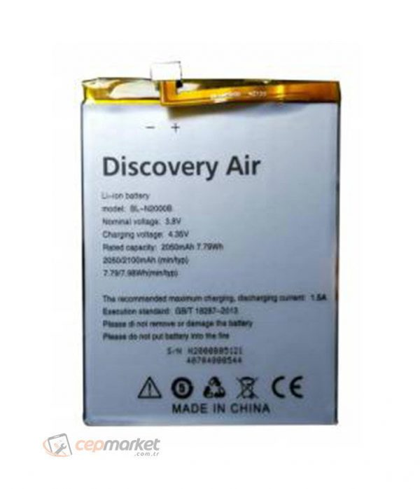 General Mobile Discovery Air Batarya Değişimi