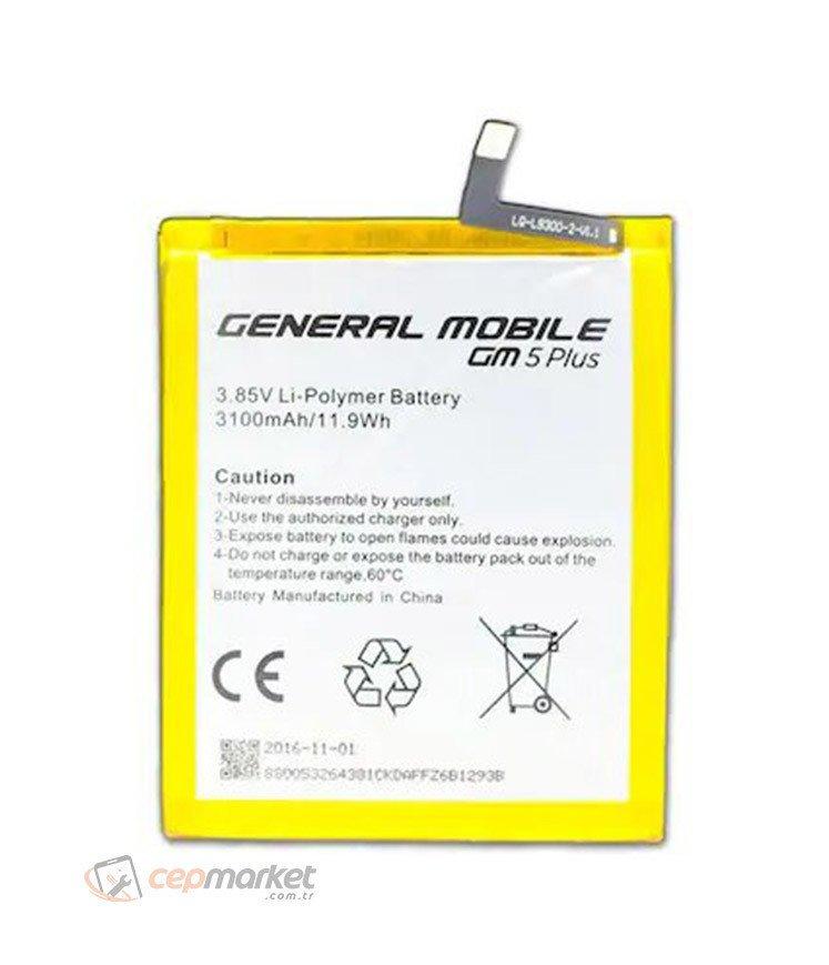 General Mobile Gm5 Plus Batarya Değişimi