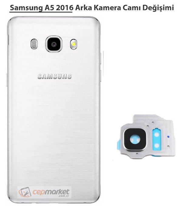 Samsung A5 2016 Arka Kamera Camı Değişimi