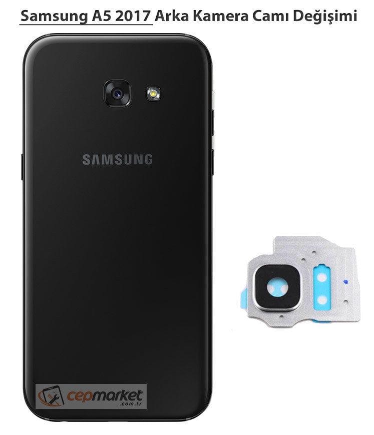 Samsung A5 2017 Arka Kamera Camı Değişimi