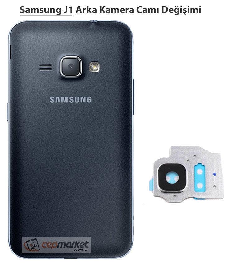 Samsung J1 Arka Kamera Camı Değişimi
