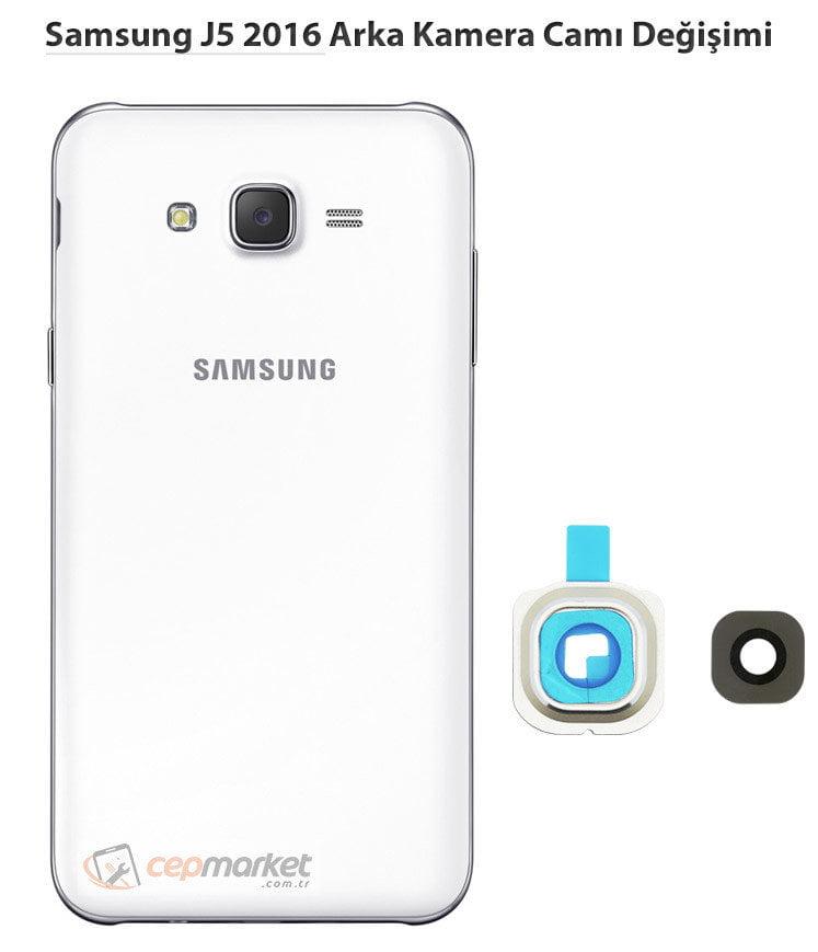 Samsung J5 2016 Arka Kamera Camı Değişimi