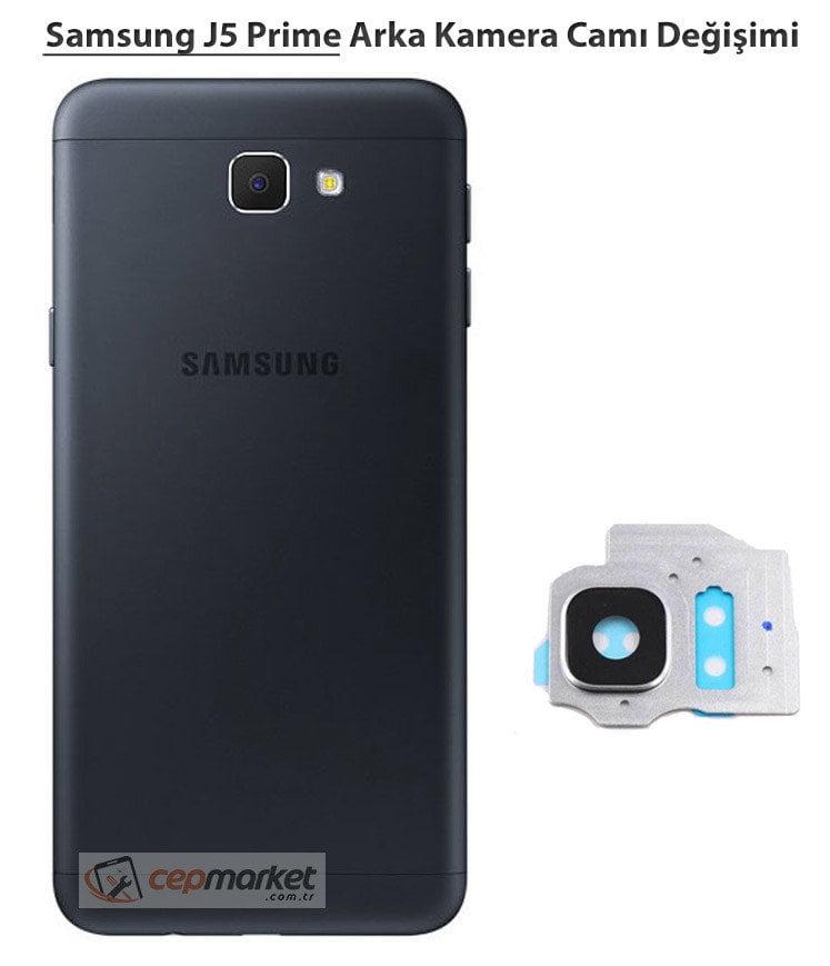 Samsung J5 Prime Arka Kamera Camı Değişimi