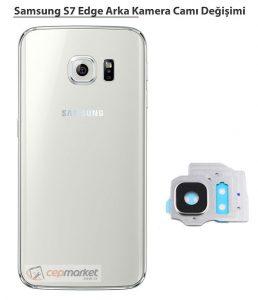 Samsung Galaxy S6 Edge Arka Kamera Camı Değişimi