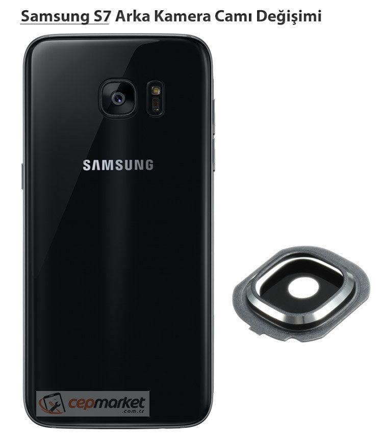 Samsung Galaxy S7 Arka Kamera Camı
